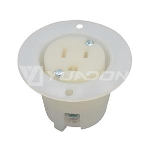 NEMA 5-15 Plug American Standard Plug NEMA 5-15P US Straight Plug Wiring Power Plug