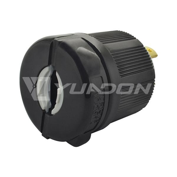 30A 250V, 2P 3W UL Listed Generator Power Locking NEMA L6-30P Twist-Lock Plug 03