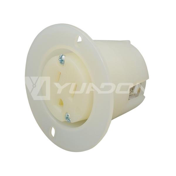 NEMA 5-15 Plug American Standard Plug NEMA 5-15P US Straight Plug Wiring Power Plug 02