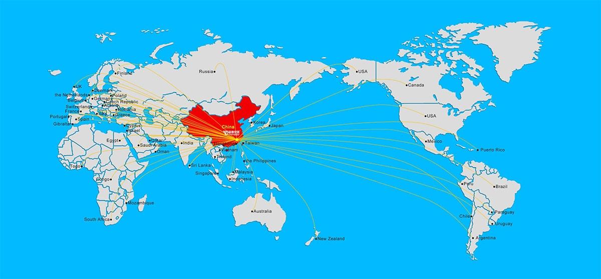 Customer Countries
